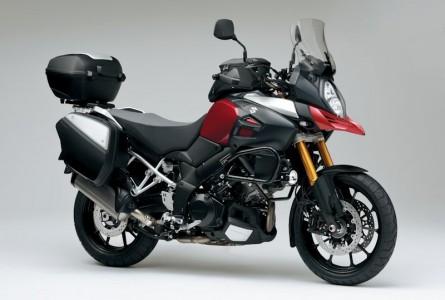 Suzuki V-Strom 1000 ABS mit hoher Zubehör Sitzbank