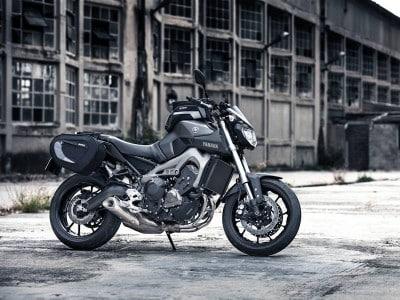 Yamaha MT-09 mit Zubehör