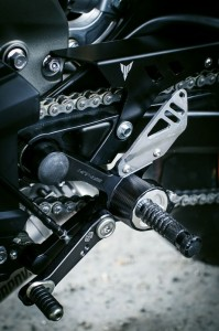 Yamaha MT-09 Zubehör Fussrastenanlage