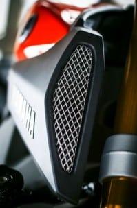 Yamaha MT-09 Zubehör Lufteinlass Gitter