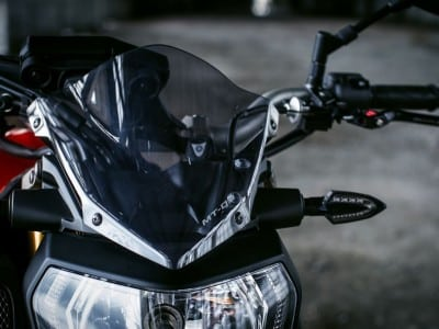 Yamaha MT-09 Zubehör Winschutzscheibe Windschild
