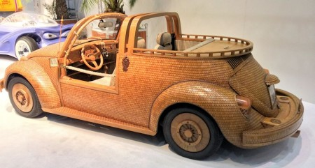 Holzschindel VW Käfer Tuning
