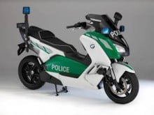 BWM Polizei Scooter Concept BMW C evolution