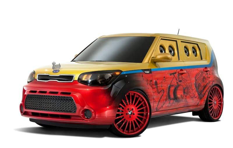 Kia Vans Warped Tour Soul