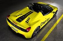 Ferrari-458-spider_Motor