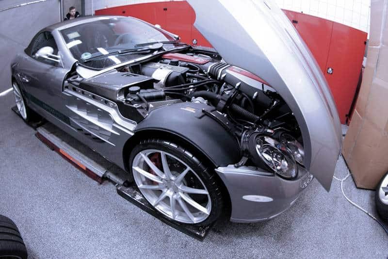 Mercedes SLR-Tuning