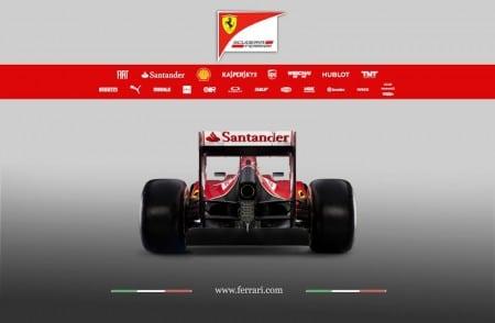 Ferrari F14 T Formel1 2014