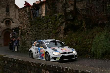 Andreas Mikkelsen/Mikko Markkula (N/FIN), Volkswagen Polo R WRC. Foto: VWM