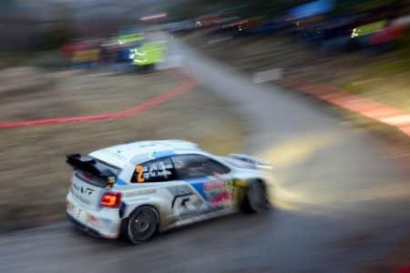 Jari-Matti Latvala/Miikka Anttila (FIN/FIN), Volkswagen Polo R WRC . Foto: VWM
