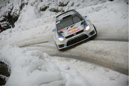 Sébastien Ogier/Julien Ingrassia (F/F), Volkswagen Polo R WRC . Foto: VW Motorsport