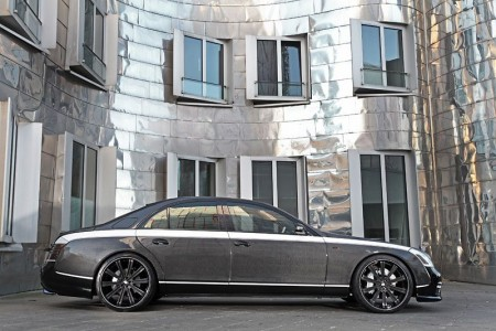 Power Upgrade Tuning By Knight Luxury Maybach 57S