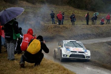 Andreas Mikkelsen/Mikko Markkula (FIN/FIN), Volkswagen Polo R WRC Foto: VW Motorsport