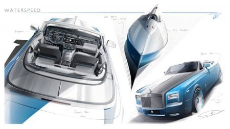 ROLLS-ROYCE BESPOKE PHANTOM DROPHEAD COUPe WATERSPEED COLLECTION