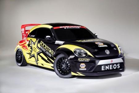 Ab sofort bin ich Beetles Fan. RallyCross-Beetle :-) Foto: VW Motorsport
