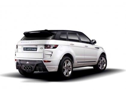 Range Rover Evoque Tuning by Larte Design.