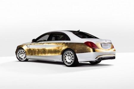 Vergoldete S-Klasse Tuning Versailles Edition by Carlsson