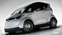 Yamaha MOTIV_e city car concept