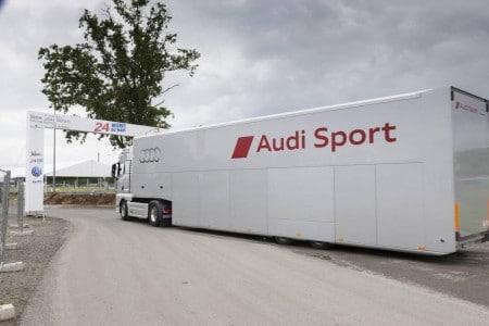 Audi Motorsport Team Joest unterwegs. Foto: Audi