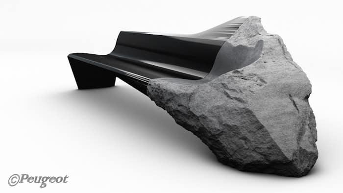 Peugeot Design Lab: Sofa ONYX