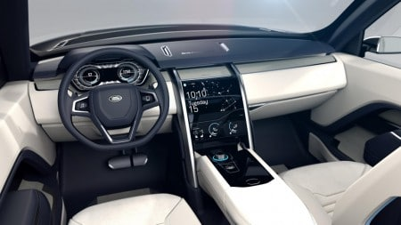 Land Rover Discovery Vision Concept Innenraum