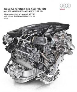 Audi Dieselmotor Querschnitt