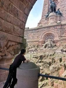 Autodino am Barte des Kaisers beim Kyffhäuserdenkmal
