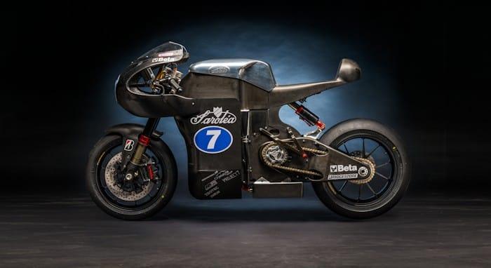 Sarolea SP7 electric superbike