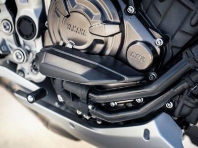Yamaha MT-07 Original Zubehör Motorschutz Protektoren