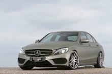 Mercedes C-Klasse Tuning Folierung