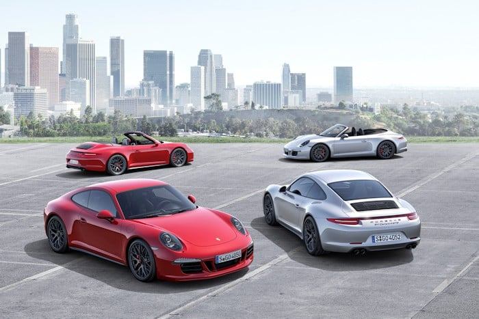 neue Porsche 911 Carrera GTS Coupe