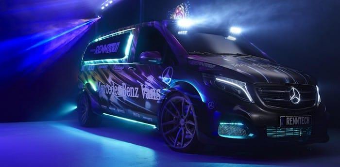 Mercedes Metris RENNtech Party DJ Van
