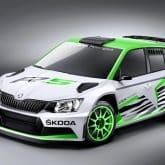 SKODA Fabia R 5 concept car
