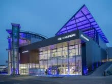 Hyundai Flagship Store Frankfurt