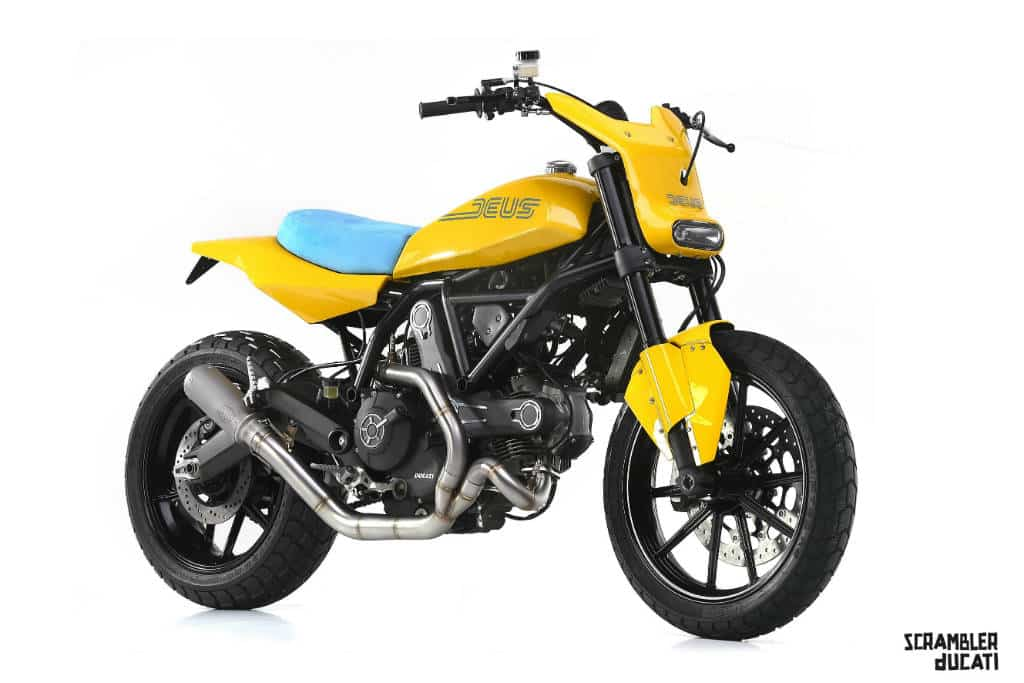 custom bikes erste ducati scrambler umbauten autodino. Black Bedroom Furniture Sets. Home Design Ideas