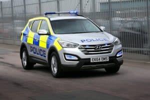 Hyundai Polizeiauto