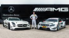 Mercedes AMG C63 DTM 2015