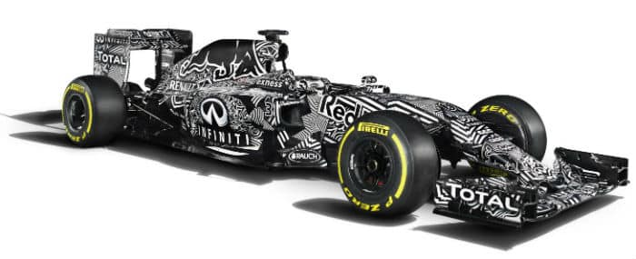 Infiniti Red Bull Formel 1 Auto 2015 Autodino