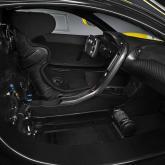 McLaren P1 GTR Innenraum