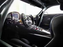 Mercedes AMG GT3 Innenraum