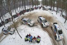 Sebastien Ogier Julien Ingrassia im VW Polo R WRC