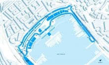 Monaco ePrix circuit