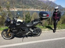 Triumph Tiger 1050 Gardasee