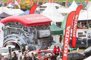Hondas aufblasbarer Motor