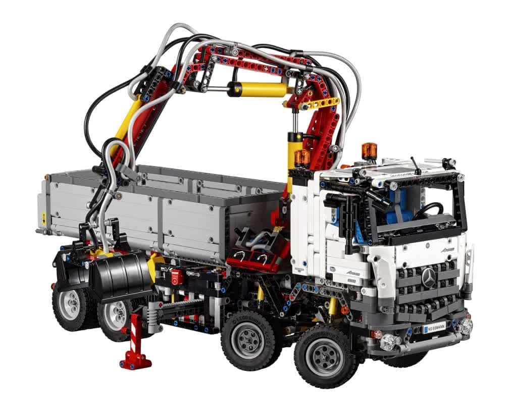 Lego Mercedes Arocs Truck
