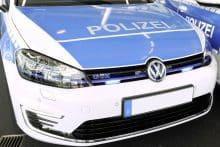 VW Golf GTE Polizeiauto