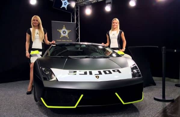 Polizei Lamborghini