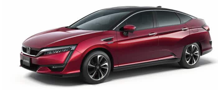 Honda FCV Brennstoffzellen Auto
