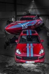 Porsche Vector Martini Racing
