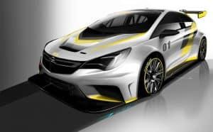 Neuer Opel Astra TCR