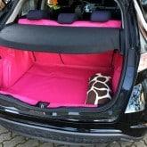Hatchbag Kofferaum Matte Honda Civic pink